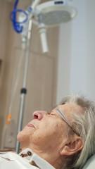 Senior Woman in Emergency Room 4