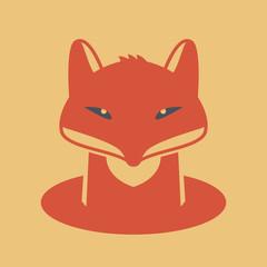Fox head sign