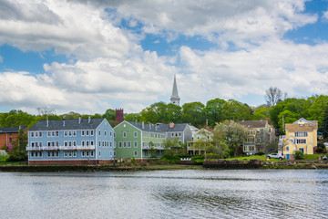 View of Fair Haven Heights, and the Quinnipiac River in New Haven, Connecticut