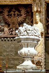 jarron puerta catedral
