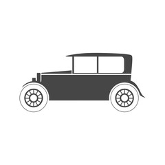 Old motor vehicle icon