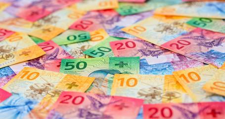 Swiss francs