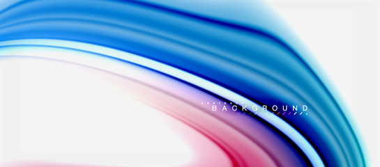 Rainbow fluid colors abstract background twisted liquid design, colorful marble or plastic wavy texture backdrop, multicolored template for business or technology presentation or web brochure cover