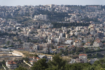 Mount Tabor in the Lower Galilee region of Northern Israel rises with its distinctive shape from the flat and fertile Jezreel Valley. Mount Tabor is important as a Biblical site