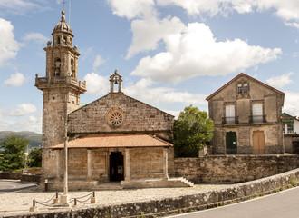 Kirche Colexiata de San Pedro, Muros, Provinz La Coruña, Rias Bajas, Galicien, Spanien