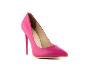 pink woman heel stiletto shoe
