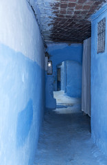 Chaouen the blue city of Morocco.Chefchaouen