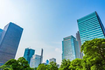 東京の高層ビル群 High-rise building in Tokyo
