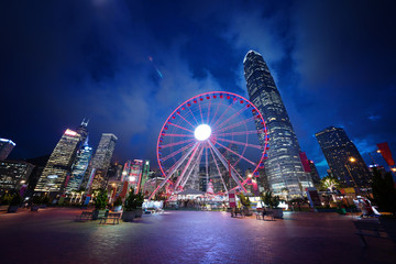 Fotomurales - Observation Wheel, Hong Kong