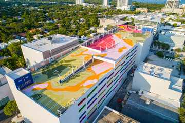 Art Parking Garage Design District Miami