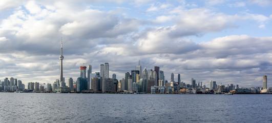 Toronto panoramic view from Toronto Islands