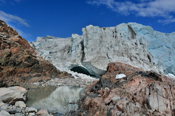 Greenland. Russell Glacier