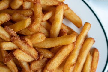 french fried on a plate