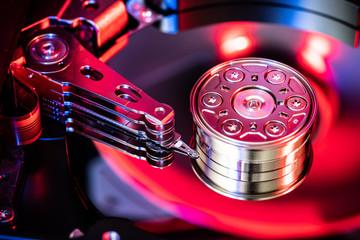 Hard drive disc, data storage Wall mural
