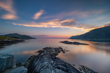 Sunset Bremanger Norway