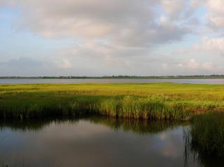 Intercoastal waterway, Charleston, SC