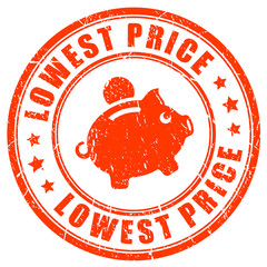 Lowest price promise vector stamp