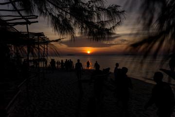 Sunset Beach Karimun Java