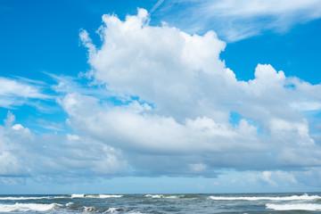 宮崎木崎浜海岸と夏空27
