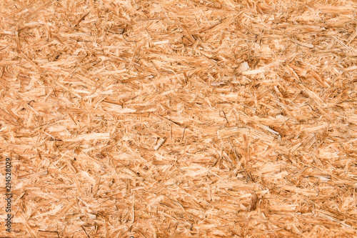 Weathered oriented strand board (OSB) ,background/ texture