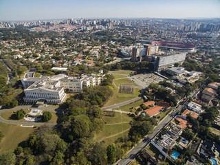Bandeirantes Palace, Government of the State of Sao Paulo, in the Morumbi neighborhood, Brazil South America