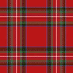 Tartan pattern. Scottish cage background