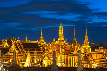 Grand palace and Wat phra keaw at Bangkok, Thailand