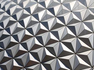 Metallic Geometric Abstract
