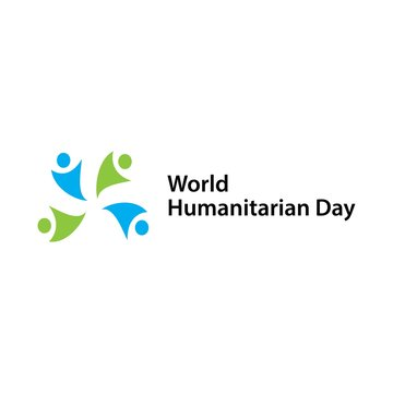 World Humanitarian Day Vector Template Design Illustration