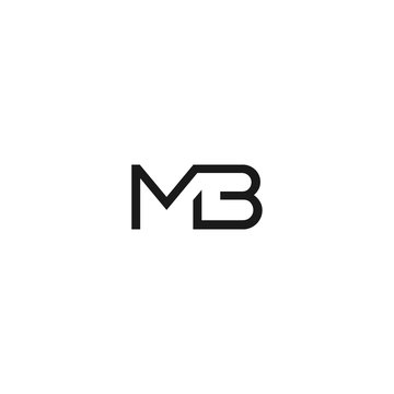 Letter MB Logo Vector Download