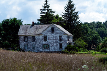 Old spooky abandoned house I passed driving through the country side.