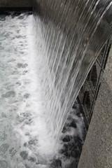 The Waterfall In The Aga Khan Gardens, U of A Botanic Gardens, Devon, Alberta