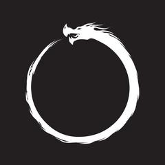 Ouroboros Infinity Symbol.