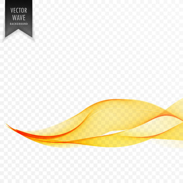 eleant yellow wave abstract background