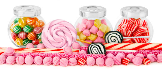 Fotorollo Süßigkeiten Bonbons
