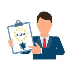 Общий регламент по защите данных. Французская, Итальянская, Испанская транскрипция.