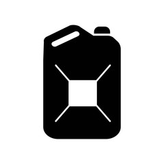 Petrol Can icon vector icon. Simple element illustration. Petrol Can symbol design. Can be used for web and mobile.