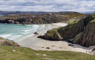 Ceannabeinne bay near Cape Wrath, Scotland