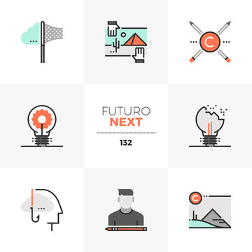 Intellectual Property Futuro Next Icons