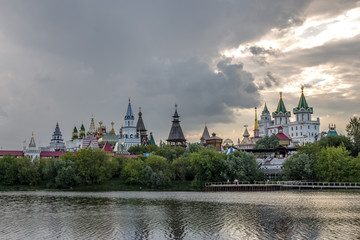 Summer view of the Izmaylovsky Kremlin