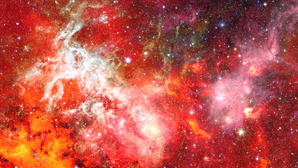 Galaxy and Nebula. Abstract space background. Elements of this image furnished by NASA.