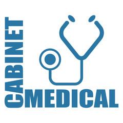 Logo cabinet médical.