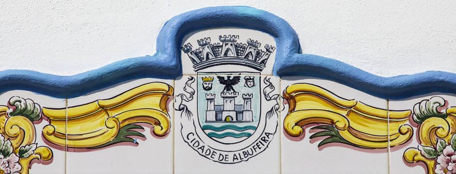 Albufeira Coat of Arms in Portugal
