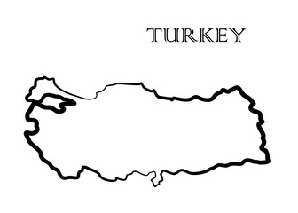 the Turkey map