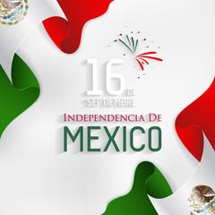 Mexico Independence Day (de la Independencia).
