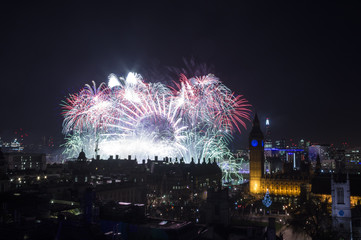 Happy New Year London