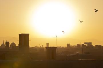 Sunrise Yazd Iran