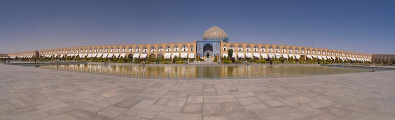 Isfahan Square Iran panorama