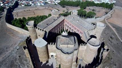 Pueblo de Belmonte en Cuenca,Castilla la Mancha, España
