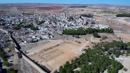 Belmonte. Pueblo historico de Cuenca. España